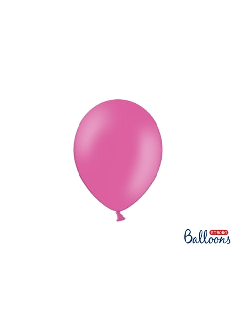 50 extra silných balonků in bright metallic růžových (23 cm)