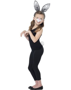 Kit deghizare de iepuraș pentru fată
