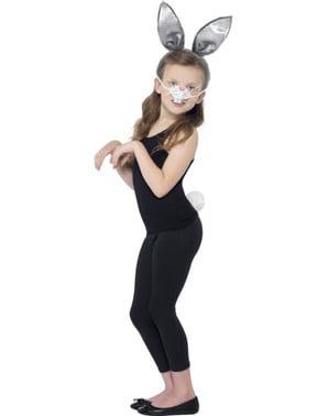 Kit fato de coelhinha para menina
