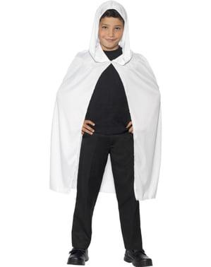 Hvid Kappe til Børn