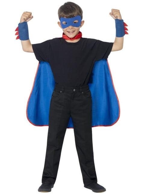 ערכת תחפושת גיבור על ילדים