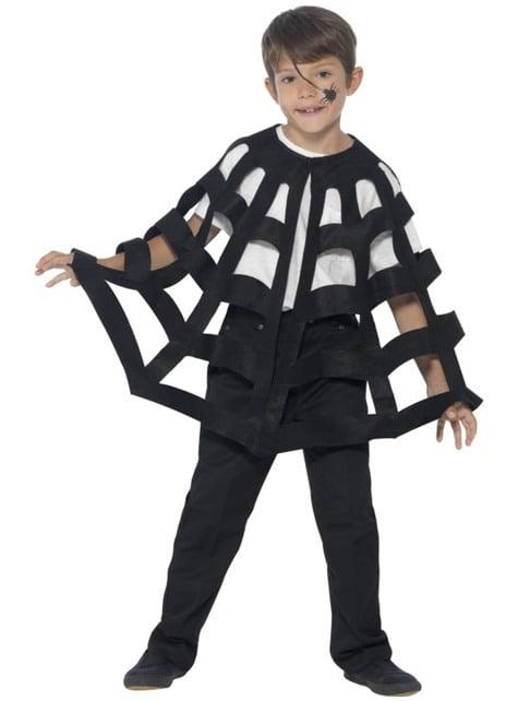 Cape araignée enfant