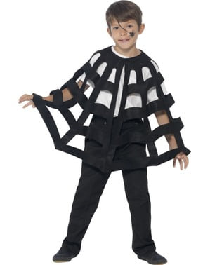 Spider cape for a girl