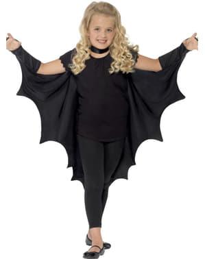 Asas de morcego para menina