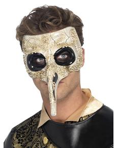 c1696f3a72e71 Máscara veneciana del Doctor de la Plaga ... class