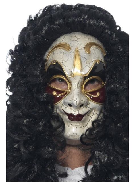 Máscara fina de veneciano para hombre