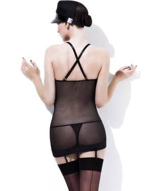 Sexy spodní prádlo sada policistka