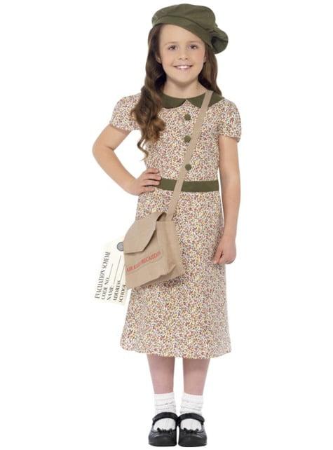 Fato de menina dos anos 40