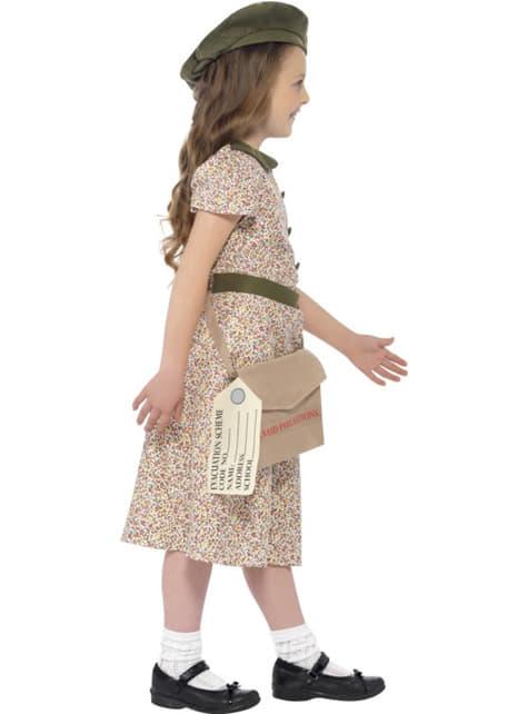 Lata 40 kostium dla dziewczynki