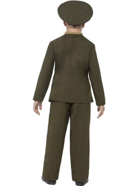 Disfraz de Capitán del ejército para niño - hombre