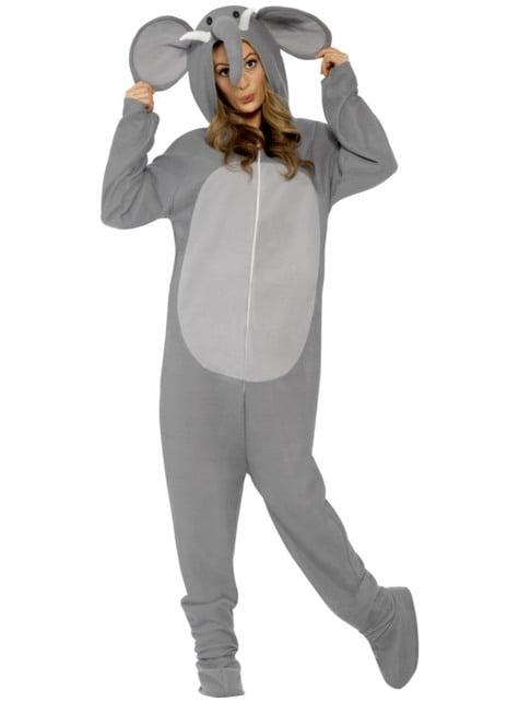 Fato de elefante na moda para adulto