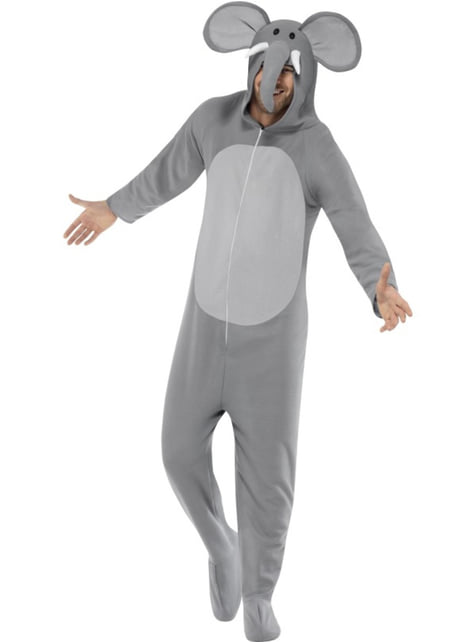 Disfraz de elefante a la moda para adulto - adulto