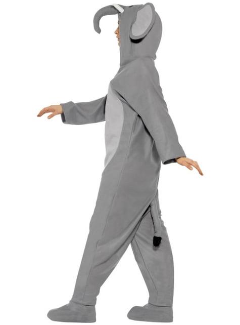 Disfraz de elefante a la moda para adulto - traje