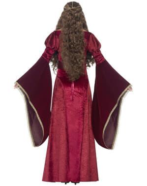 Déguisement reine médiévale femme