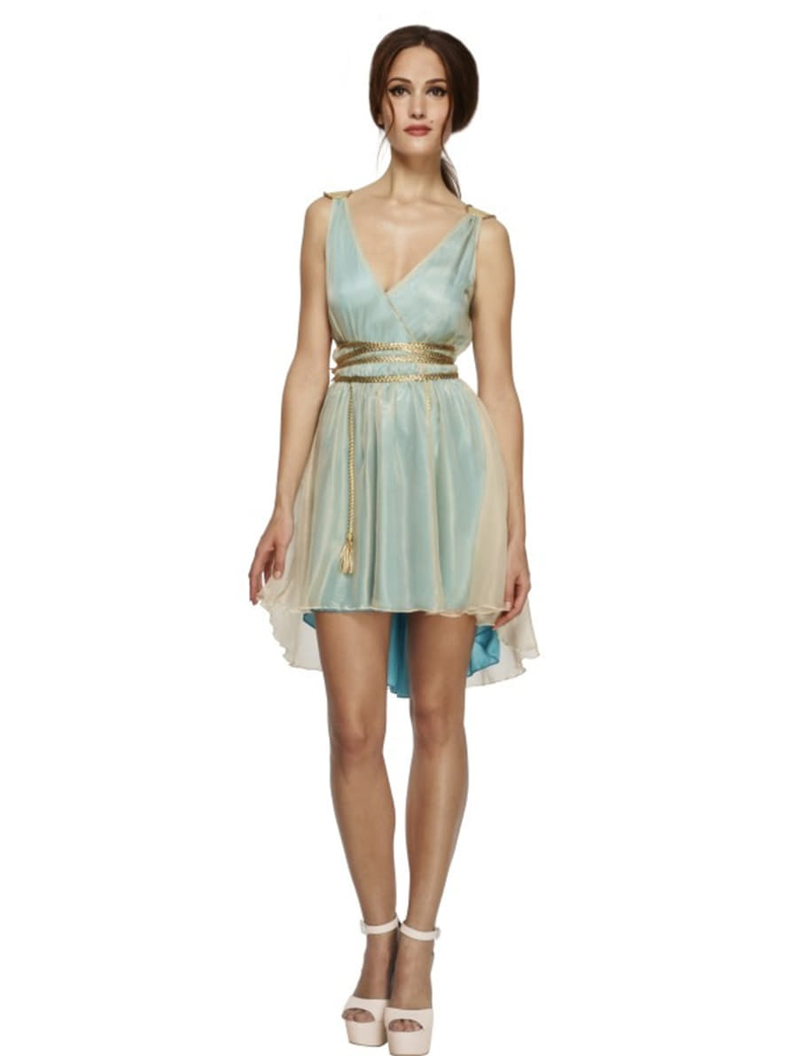 a9d489ce38c730 Traditioneel Griekse Godin kostuum Fever voor vrouwen ...