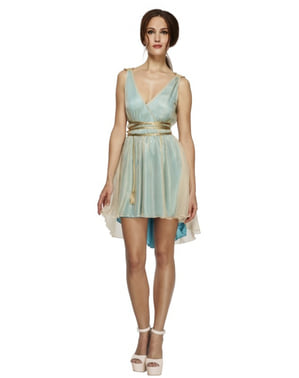 Womens Traditional Greek Goddess Fever Costume