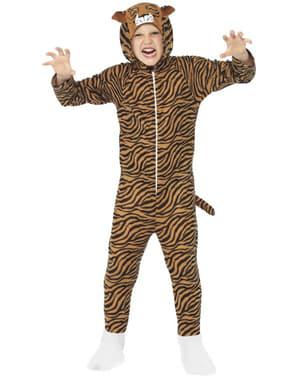 Fato de tigre para menino