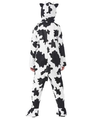 Κορίτσι διασκέδαση αγελάδα κοστούμι