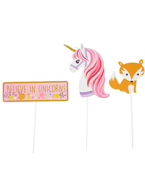 12 complementos para photocall de unicornio - Pretty Unicorn