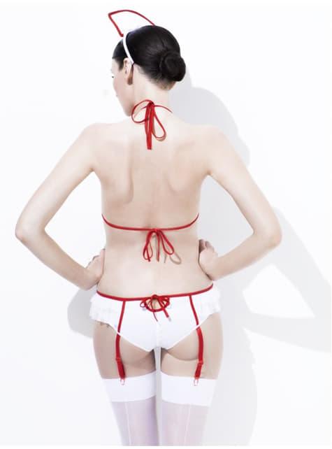 Disfraz fever de enfermera sexy
