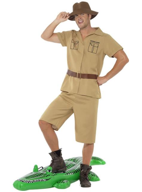 Disfraz de hombre safari para hombre