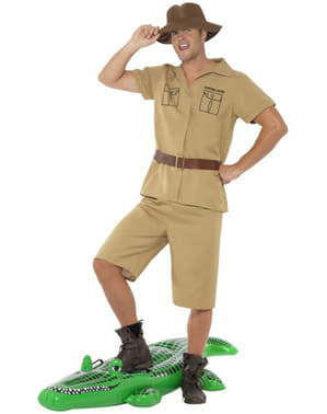 Safari mand kostume til mænd