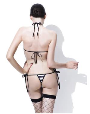 Sexy spodní prádlo sada vězenkyně