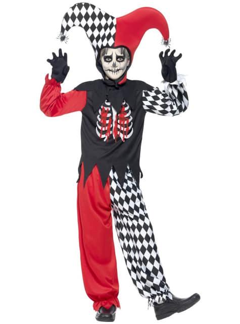 Chlapecký kostým přízračný šašek