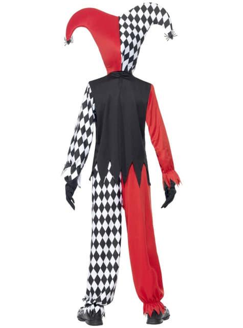 Boys Jester of Death Costume