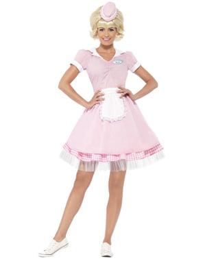 Kostium kelnerka glamour damski