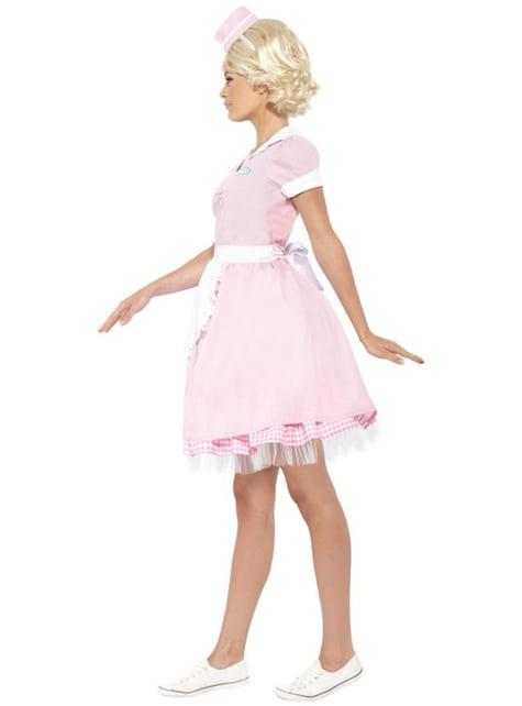 Serveerster jaren '50 Kostuum voor vrouw