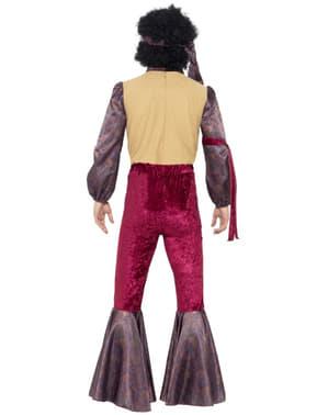 Costum de rocker psihodelic pentru bărbat