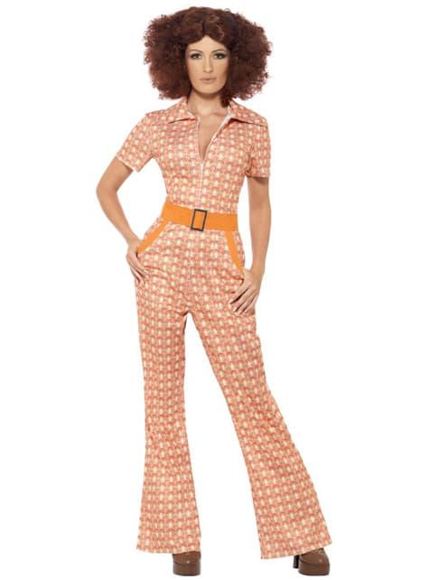 Fato rapariga dos anos 70 para mulher