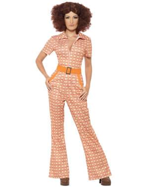 Naisten 70-luvun tyttö -asu