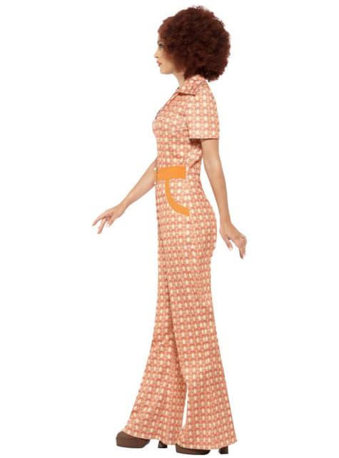 Kostium dziewczyna z lat 70'tych damski