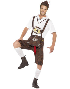 Bavarian Oktoberfest Costume with surprise