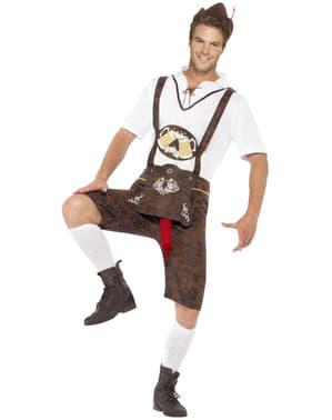 Costum bavarez cu surpriză pentru Oktoberfest