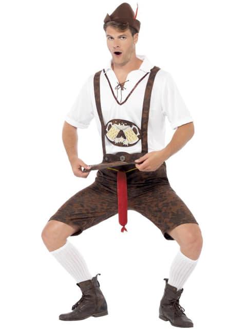 Disfraz de tirolés con sorpresa Oktoberfest - hombre