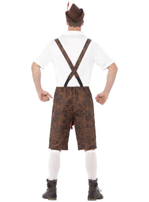Disfraz de tirolés con sorpresa Oktoberfest - original