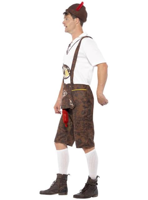 Disfraz de tirolés con sorpresa Oktoberfest