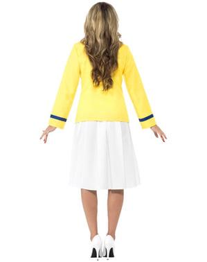 Costum de consultant de turism pentru femeie