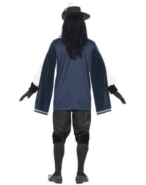 Modig Musketer Kostyme til Menn