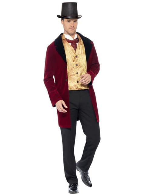 ビクトリア朝時代の紳士コスチューム