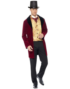 Viktoriansk Æra Gentleman Kostume