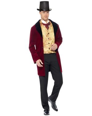 Kostým gentlemana viktoriánská éra