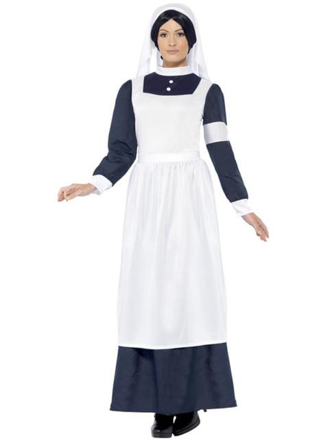 Costume da infermiera della guerra mondiale