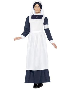 Costum de asistentă din războiul mondial