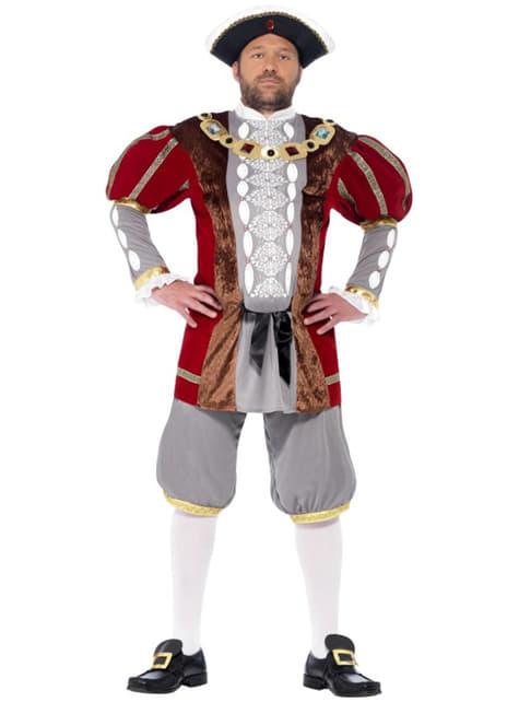 Fato de Henry o rei para homem