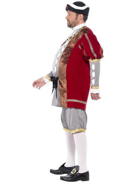 Disfraz de Henry el rey para hombre - original