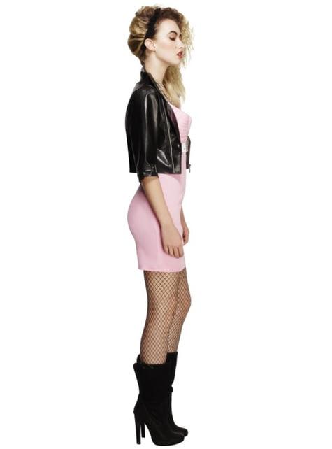 Disfraz de diva del rock de los años 80 - mujer